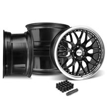 Mustang SVE Series 3 Wheel & Lug Nut Kit - 20x8.5 Gloss Black (05-14)