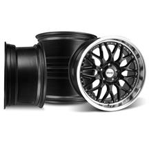 Mustang SVE Series 3 Wheel Kit - 19x9/10 Gloss Black (05-17)