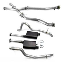 "Mustang SVE 2.5"" Off Road X-Pipe & Cat-Back Exhaust Kit (87-93)"