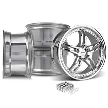 Mustang SVE Series 2 Wheel & Lug Nut Kit - 20x8.5/10 Chrome (15-17)