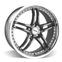 Mustang SVE Series 2 Wheel - 20x8.5 Gun Metal w/ Machined Lip (05-17)