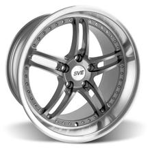 "Mustang SVE Series 2 Wheel - 19x10"" Gunmetal w/ Polished Lip (05-17)"