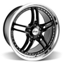 "Mustang SVE Series 2 Wheel - 19x9"" Black w/ Machined Lip (05-17)"