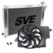 Mustang SVE Aluminum Radiator and Fan Kit (94-95) 5.0L
