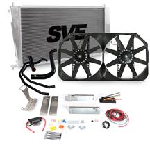 F-150 SVT Lightning SVE Aluminum Radiator, Fan & Hose Kit (99-02)