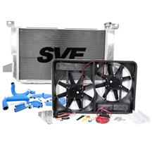 F-150 SVT Lightning SVE Aluminum Radiator, Fan & Hose Kit (93-95)