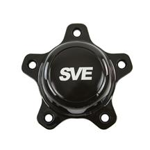 "SVE Mustang Drag ""Classic"" Wheel Center Cap  - Black (94-14)"