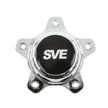 Mustang SVE Drag Wheel Center Cap  - Chrome (94-14)