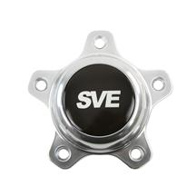 "SVE Mustang Drag ""Classic"" Wheel Center Cap  - Dark Stainless  (94-14)"