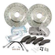 "Mustang SVE 13"" Cobra Style Front Brake Kit w/ C-Tek Rotors  - Bare (94-04)"