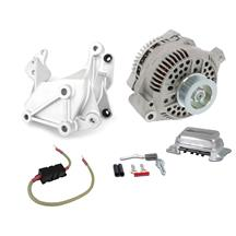 Mustang SVE 130 Amp Alternator & Bracket 1g to 3g Upgrade (79-85)