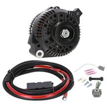 SVE Mustang 130 Amp Alternator Full Upgrade Kit  - Black (86-93) 5.0/5.8