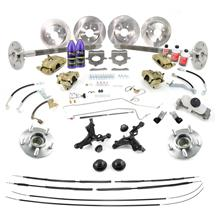 Mustang SVE 31 Spline 5-Lug Conversion Kit w/ GT Brakes (87-93)