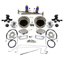 Mustang SVE  5-Lug Conversion Kit - 28 Spline Black (87-93)