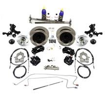 SVE  Mustang 5-Lug Conversion Kit - 28 Spline Black (87-93)