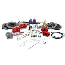 Mustang SVE 5-Lug Conversion Kit, 31 Spline Red (87-93)