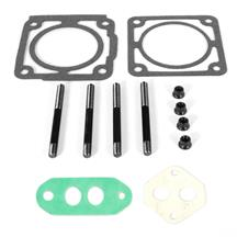 SVE Mustang 65/70mm Throttle Body & EGR Gasket Kit w/ Studs (86-93)
