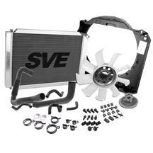 Mustang SVE Aluminum Radiator & Stock Fan Kit (86-93) 5.0