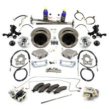Mustang SVE Base 5-Lug Conversion Kit - 28 Spline (87-93)