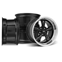 SVE Mustang Bullitt Wheel Kit - 17x9/10.5  - Black (94-04)