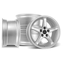 Mustang SVE Cobra R Wheel Kit - 17x9/10.5  - Silver (94-04)