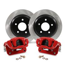 "Mustang SVE Cobra Rear Brake Caliper & Rotor Kit - 11.65"" - Red (94-04)"