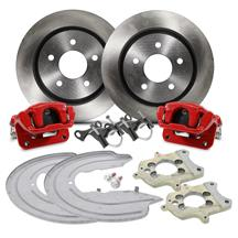 "Mustang SVE Cobra Rear Brake Conversion - 11.65"" - Red (94-04)"