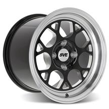 SVE  Mustang Drag Comp Wheel - 15x10 - Gloss Black  (79-93)