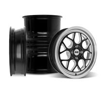SVE Mustang Drag Comp Wheel Kit - 17x4.5/15x10 - Gloss Black  (79-93)