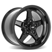 Mustang SVE Drag Wheel - 15x10  - Gloss Black (94-04)