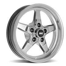 "Mustang SVE Drag ""Classic"" Wheel - 15x3.75  - Dark Stainless (94-10)"