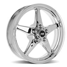 Mustang SVE Drag Wheel - 17x4.5  - Chrome (94-14)
