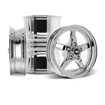 Mustang SVE Drag Wheel Kit - 15x3.75 / 15x10  - Chrome (94-04)