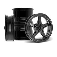 "Mustang SVE Drag ""Classic"" Wheel Kit - 15x3.75 / 15x10  - Gloss Black (05-10)"