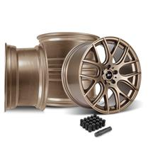 Mustang SVE Drift Wheel kit - 19x9.5  - Satin Bronze  (15-20)
