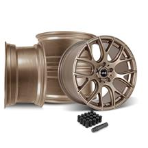 Mustang SVE Drift Wheel Kit - 18x9/10  - Satin Bronze (05-14)