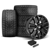 Mustang SVE Drift Wheel & Tire Kit - 19x9.5  - Gloss Black - NT555 (05-14)