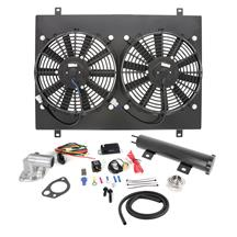 SVE Mustang Economy Electric Fan Conversion Kit  - Black (79-93) 5.0