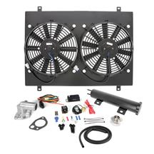 Mustang SVE Economy Electric Fan Conversion Kit  - Black (79-93) 5.0