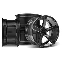 Mustang SVE NVX Wheel Kit - 18x9/10  - Gloss Black (94-04)