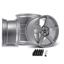 Mustang SVE R355 Wheel Kit - 19x10/11  - Titanium Grey (15-20)
