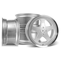 SVE Mustang Saleen SC Style Wheel Kit - 17x8 Silver (79-93)