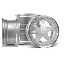 SVE Mustang Saleen SC Style Wheel Kit - 17x9/10  - Silver (79-93)