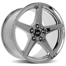 Mustang SVE Saleen Style Wheel - 18x10 Chrome (94-04)