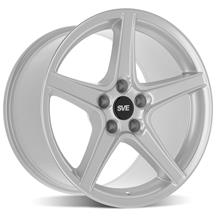 Mustang SVE Saleen Style Wheel - 18x10 Silver (94-04)