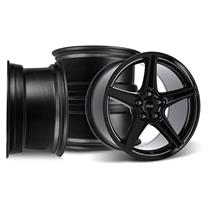 Mustang SVE Saleen Style Wheel Kit - 18x9/10 Black (94-04)