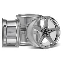 Mustang SVE Saleen Style Wheel Kit - 18x9/10 Chrome (94-04)