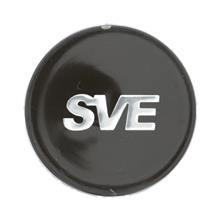 Mustang SVE Series 1 Wheel Cap  - Gloss Black  (94-04)