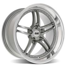 Mustang SVE Series 2 Wheel - 18x10 Gun Metal w/ Machined Lip (94-04)