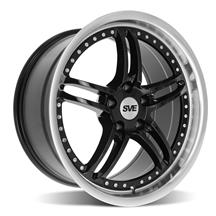 Mustang SVE Series 2 Wheel - 18x9 Black w/ Machined Lip (94-04)